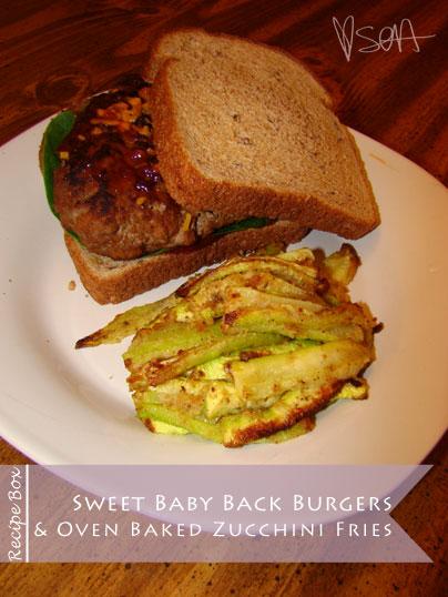 Recipe Box: Sweet Baby Back Burgers
