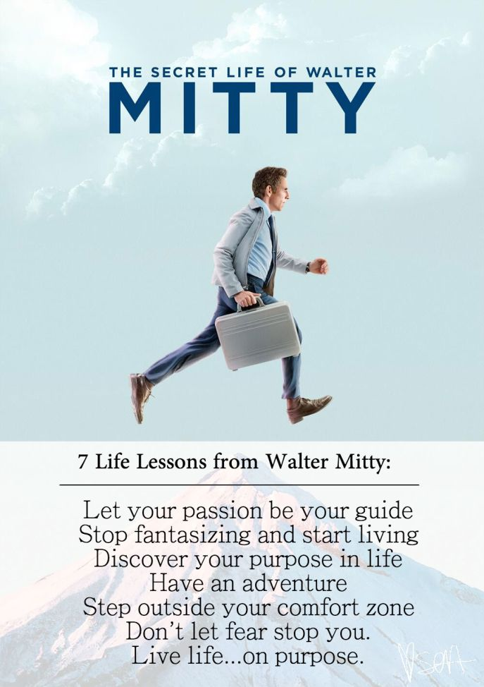 7 Life Lessons from Walter Mitty