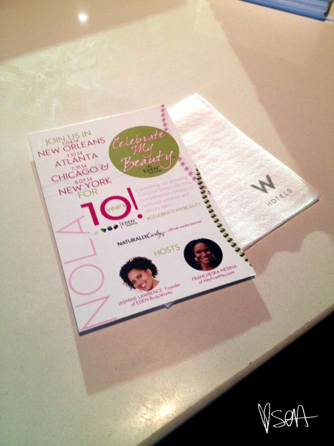 Celebrate My Beauty- Eden Body Works event in Atlanta-flyer