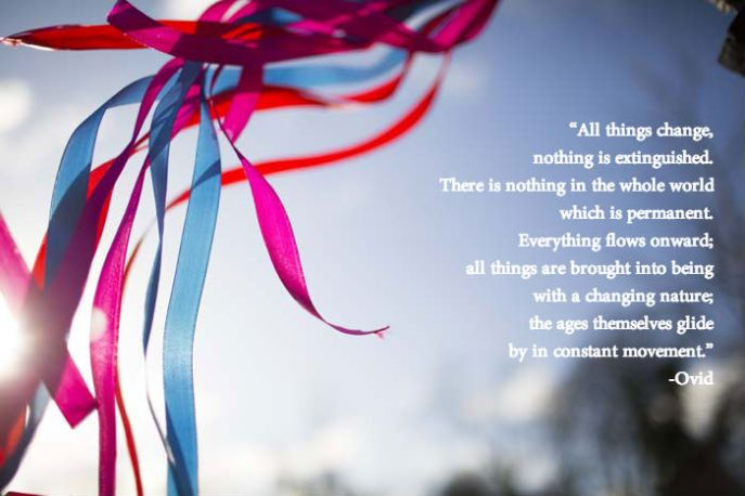 Movement quote by Ovid