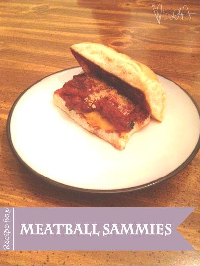 Meatball Sammies via SOAinspired