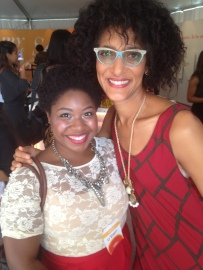 Carla Hall of The Chew hosting Bounty's Bring It Power Meet Up at Life You Want ATL