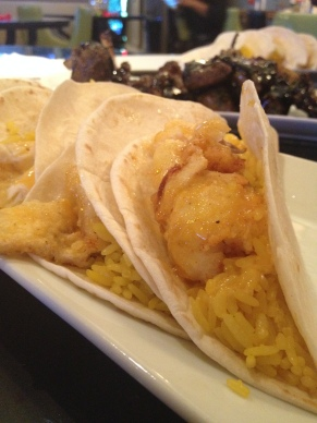 Fish Tacos created by Chopped Chef winner Chef Sammy Davis at Glam University