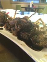 Lamb pops created by Chopped Chef winner Chef Sammy Davis at Glam University