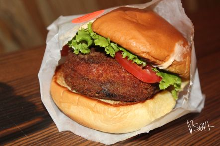 Portobello Shroom Burger