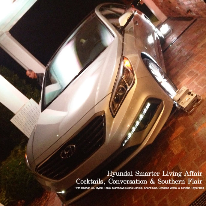 Hyundai Smarter Living Affair - Cocktails Conversation  Southern Flair -Hyundai Sonata